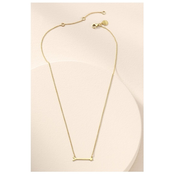Stella & Dot Jewelry - Stella & Dot On The Mark Arrow Necklace - Gold